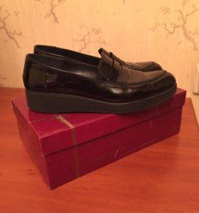 Туфли кожаные Massimo Renne