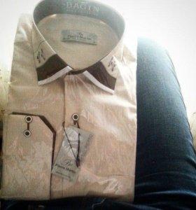 Рубашка классическая мужская новая