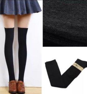 Чулки/носки черные