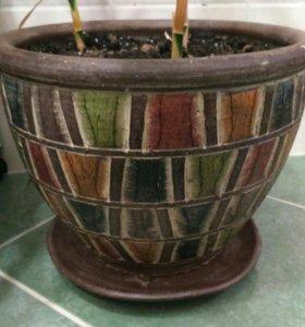 Горшок (кашпо) напольный для цветов