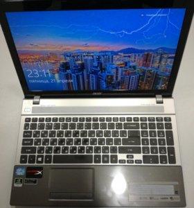 Acer Aspire V3-571G шустряк в отличном состоянии