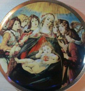 Новая пасхальная тарелка