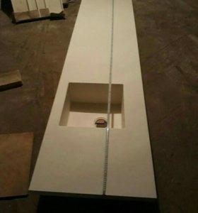 Столешница кухонная искусственный камень новый