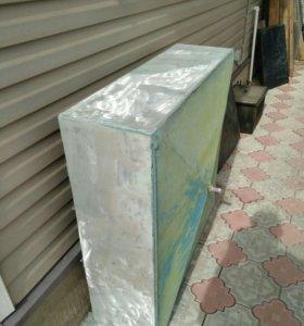 Бак алюминиевый 300 литров