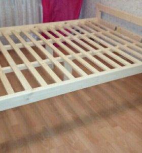 Кровати с матрацом