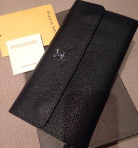 Портмоне мужское Louis Vuitton (кожа)