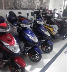 Ремонт японских скутеров.