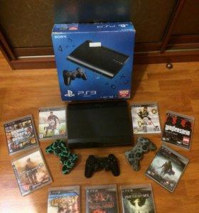 Игровая приставка Sony PlayStation3 500GB б/у