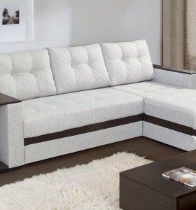 Угловой диван кожзам со склада
