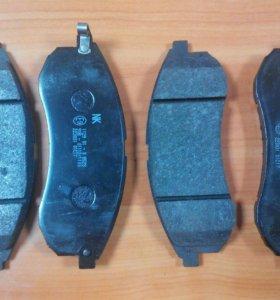 Колодки тормозные передние Митсубиси L200