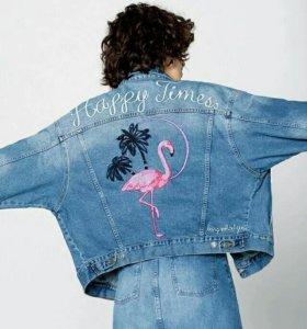 Куртка джинсовая новая.