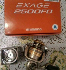 Shimano exage 2500 fs и 3000 sfd