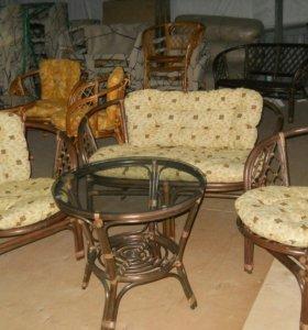 Комплект мебели из ротанга (НОВЫЙ) Индонезия