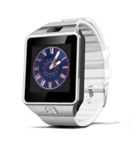 Умные часы Dz 09 white новые