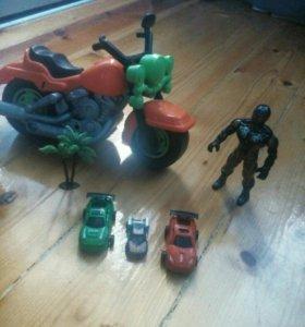 Игрушки,машинки,солдатики,трансформер