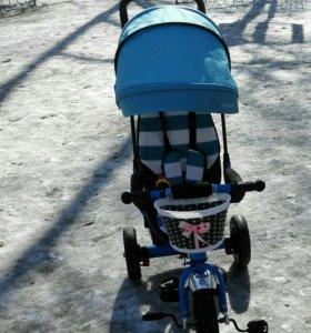 Детский велосипед, надувные колеса