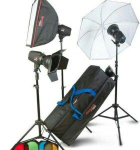 Импульсный свет для фотостудии