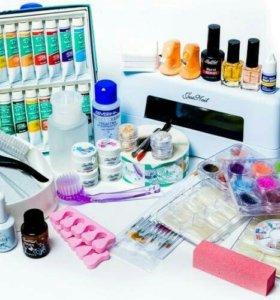 Распродажа материалов для наращивания ногтей ресни