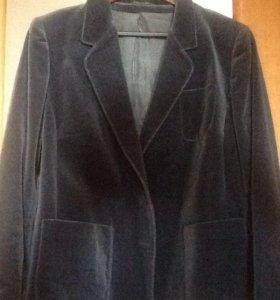 Бархатный пиджак размер M-L