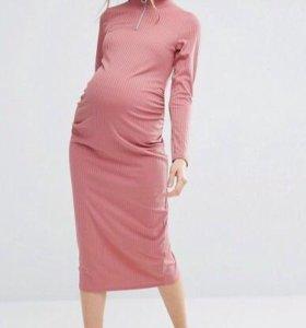 Платье asos миди для беременных