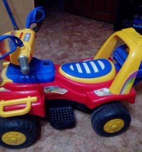 Электромобиль (квадроцикл) для детей, б/у