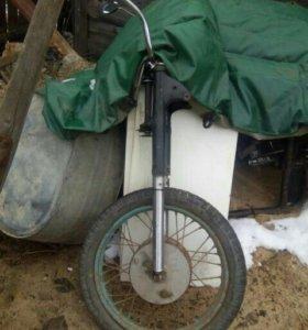Вилка с колесом Иж П3