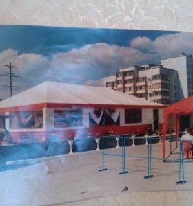 Летняя палатка кафе 120кв.м