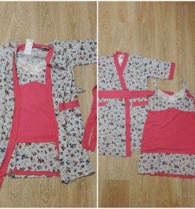 Новый халат + сорочка