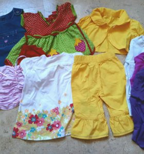 Платья, костюм, сарафан, футболки