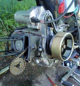 Двигатель от альфа 72 куб