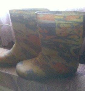 Сапоги резиновые и ботиночки