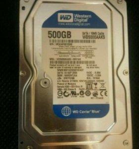 Жёсткий диск WD 500GB для пк