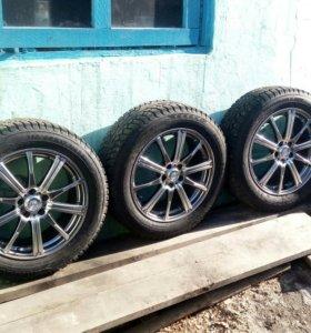 Комплект колес на шевроле круз