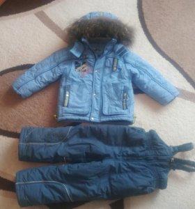 Зимний костюм(рост 104)