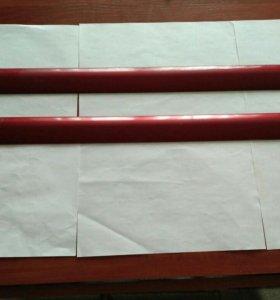 Пластмассовые накладки на двери
