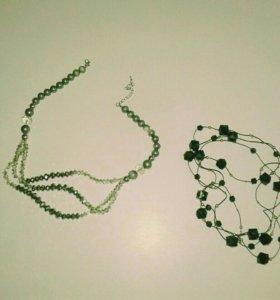 Бусы, браслеты и серьги