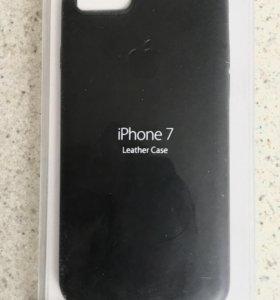 iPhone 7 кожаный чехол