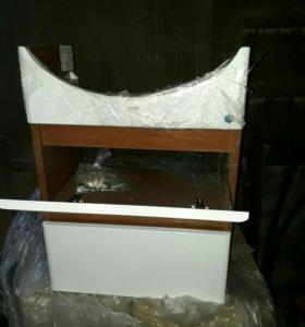 Тумбы (эрика 55.65см) под керамическую раковину