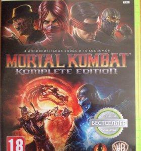 Mortal Kombat на xbox -360