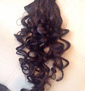 Волосы на заколках(натуральные)