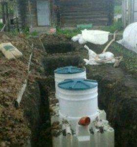 Загородная канализация!
