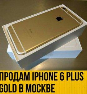 Iphone 6 Plus Gold 16GB Ростест