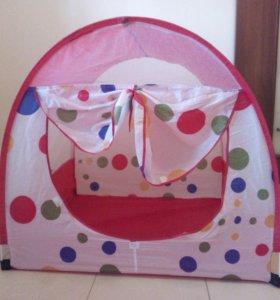 Палаточный домик доя детей