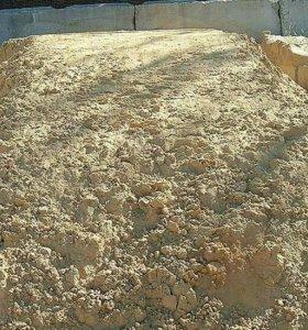 песок,щебень,