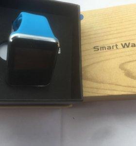 Смарт часы копия I-watch blue