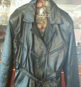 Куртка женская кожаная (новая)