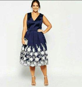 Новое платье р. 54