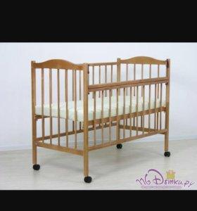 Кроватка детская,матрац