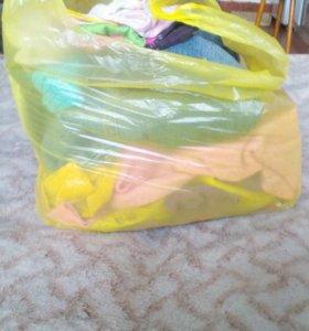 Пакет детской одежды для девочки
