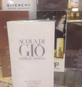 Giorgio Armani Acqua Di Gio, большой объем